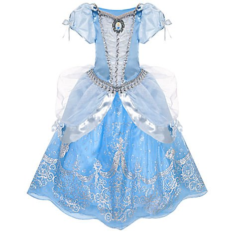 Disney Store Princess Cinderella Costume Ball Gown Dress: Size XS 4