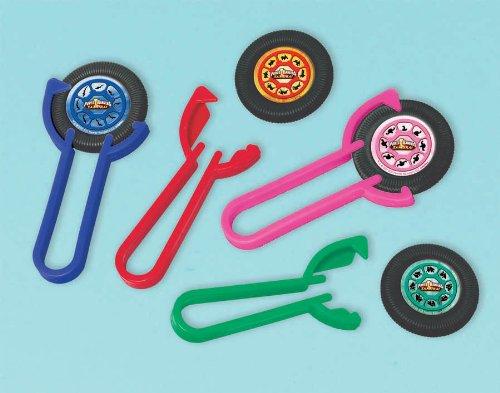 Imagen de Power Rangers Samurai lanzadores de disco (12) (multicolor) Parte de accesorios