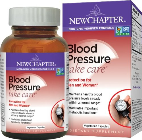 New Chapter Blood Pressure Take Care, 60 Vegetarian Capsules