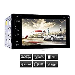 See Double 2 Din In Dash Touch Screen Car Stereo DVD CD VCD MP3 Player Radio Double 2 Din 6.2