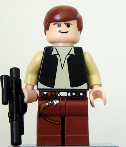 gadget geek - lego star wars death star han solo mini figurine avec blaster