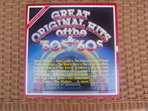 Reader's Digest Great Original Hits of the 50's & 60's Collector's Edition 7 Album Box Set