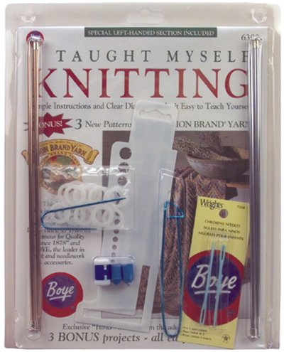 I Taught Myself Knitting Beginners Kit