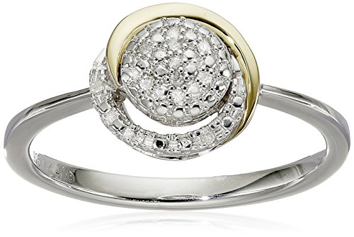 sg-sterling-silver-and-14k-yellow-gold-diamond-circle-framed-ring-size-7
