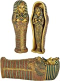 "King Tut Coffin with King Tut Inside, 8""L"