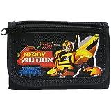 Transformers Black Tri-Fold Wallet