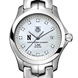 TAG HEUER watch:Northwestern TAG Heuer Watch - Women's Link with Mother of Pearl Diamond Dial at M.LaHart
