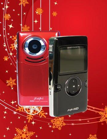 Zaps Poket-Digi- Camcorder (Black) With 4 Gb Sd Card