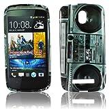 Thematys TPU Silicone Protective Phone Case in Ghettoblaster Design for HTC Desire 500