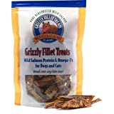 Grizzly Salmon Fillet Treats for Dogs and Cats
