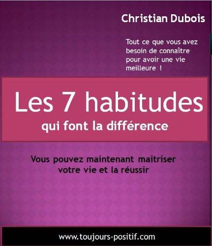 Couverture du livre Les 7 habitudes qui font la différence