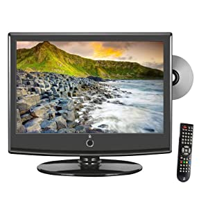 Pyle Home PTC158LD 15.6-Inch 60Hz Flat Panel LCD HDTV with Built-In DVD Player