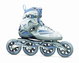 FILA Inline Skate FM 100 Lady, Silver-Light Blue, 37,5
