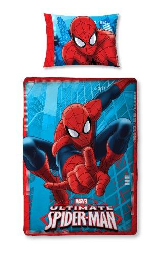 Character World 125 x 150 cm Ultimate Spider-Man City Junior Panel Duvet Set