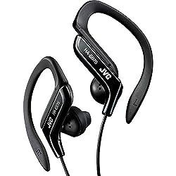 JVC HAEB75B Sports Clip Headphone (Black)