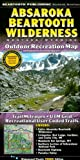 Absaroka Beartooth Wilderness: Montana, Wyoming: Outdoor Recreation Map