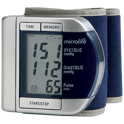 Cheap MICROLIFE AUTOMATIC WRIST BLOOD PRESSURE MONITOR (microlife)