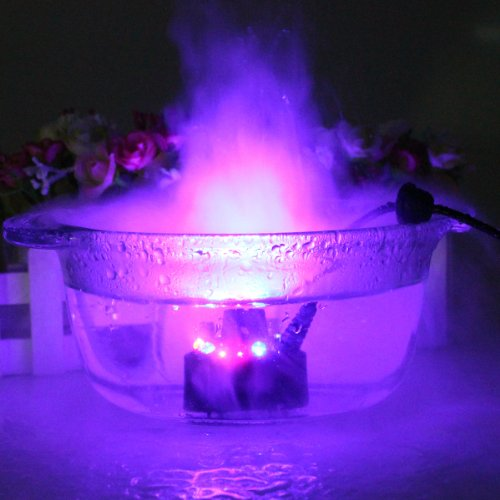 Image 174 12 Led Mist Maker Fogger Water Fountain Pond Fog