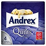 Andrex Quilts Toilet Tissue 4 Rolls (Pack of 10 x 4Roll)
