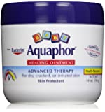 Aquaphor Baby Healing Ointment Diaper Rash and Dry Skin Protectant, 14 Oz Each -New Super Size Package 4 Count
