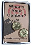 .45 Colt Winchester 14k Plated Cuff Links