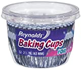 Reynolds Wrap Foil Baking Cups 32 Count (Pack of 8) Total 256 Cups