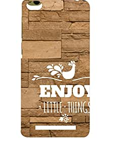 EPICCASE happiness quotes Mobile Back Case Cover For Xiaomi 3S Prime (Designer Case)