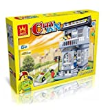 Fire Beast City Inn Building Blocks 480 Pcs Set Compatible With Lego Parts, Best Toy, Great Gift!