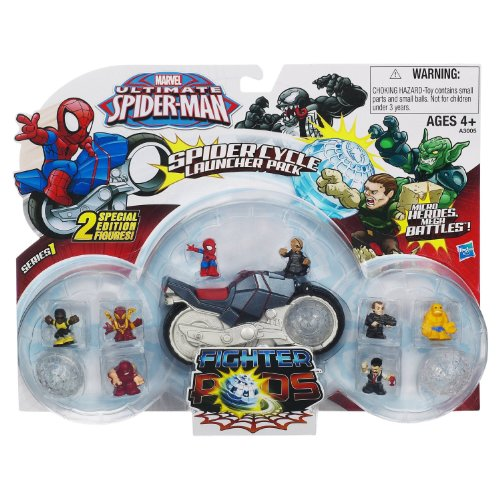 Spider-Man Pods Cycle Launcher - 1