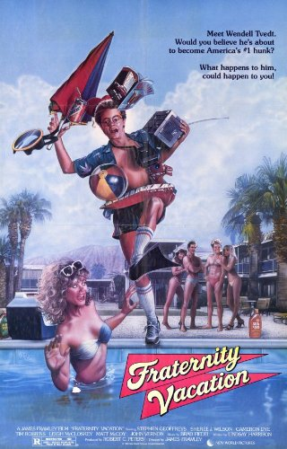 Fraternity Vacation Poster Movie 11x17 Stephen Geoffreys Sheree J. Wilson Cameron Dye