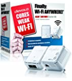 Devolo dLAN 500 Wi-Fi Powerline Starter Kit, Easy Wi-Fi Access in Every Room (500 Mbps, 2 Plugs, 1 LAN Port, Small, Wi-Fi Booster, Wi-Fi Repeater, Wi-Fi Extender Kit, Adapter, LAN, Wi-Fi Move) - White