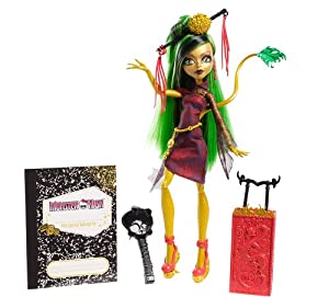 Mattel Y7657 - Monster High Scaris Deluxe Jinafire Long, Puppe