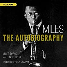 Miles: The Autobiography Audiobook by Miles Davis Narrated by Dion Graham
