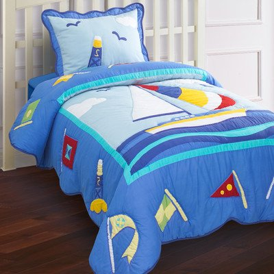 Twin Nautical Bedding 5441 front