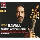Musique europ�enne 1550-1650 (Coffret 5 CD)