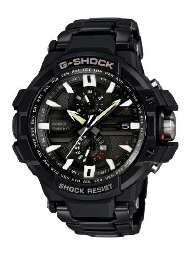 Casio Men's GWA1000D-1A G-Aviation G-Shock Watch