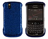 Hard Sparkles Case for BlackBerry Tour 9630 - Royal Blue