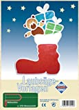 Pebaro Fretwork Santa Claus Boot Artwork
