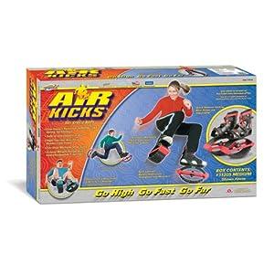 Air Kicks Anti-Gravity Running Boots, Medium (T-2) for 99-176 Lbs