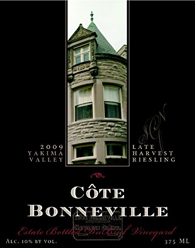 2009 Côte Bonneville Late Harvest Dubrul Vineyard Riesling 375 Ml