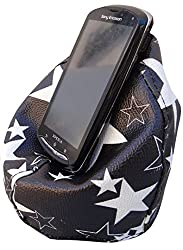 Printed Bean Bag Mobile Holder Star