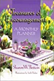 img - for Treasures Of Encouragement : A Monthly Planner by Sharon W. Betters (2000-11-06) book / textbook / text book