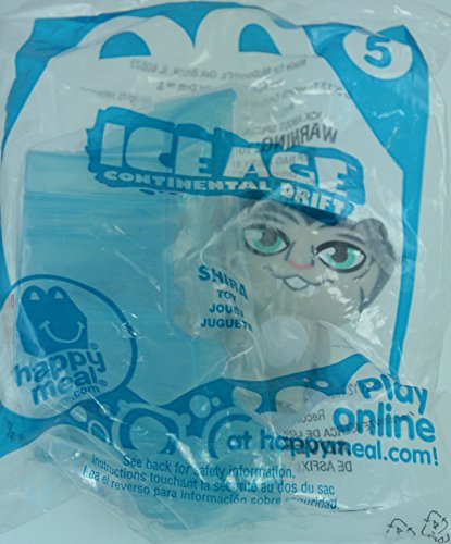 McDonalds Happy Meal Ice Age Continental Drift Shira #5
