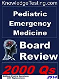 img - for Pediatric Emergency Medicine Board Review (Board Certification in Pediatric Emergency Medicine Book 1) book / textbook / text book