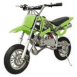 49cc 50cc 2-Stroke Gas Motorized Mini Dirt Pit Bike (Green)