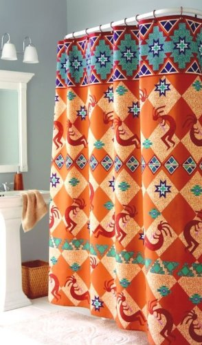 Shower Curtains Southwestern Style | Decoration Pages