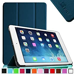 Fintie Apple iPad mini with Retina Display (iPad mini 2) Smart Shell Case - Ultra Slim Lightweight Smart Cover with Auto Wake / Sleep (Lifetime Warranty) - Navy
