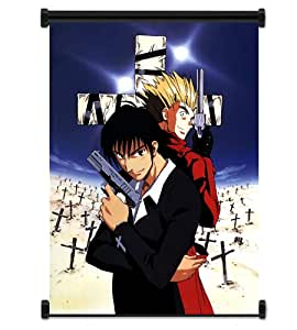 anime tissu trigun poster 31 cm x 42 cm cuisine maison. Black Bedroom Furniture Sets. Home Design Ideas
