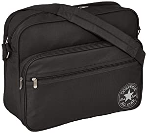 Converse Messenger Bag, Playbook Reporter, black - black, 30PLA40-62