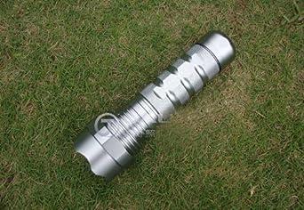 LoveSeven 35W Ultra-Bright HID Xenon Waterproof Flashlight Torch-Silver by LoveSeven